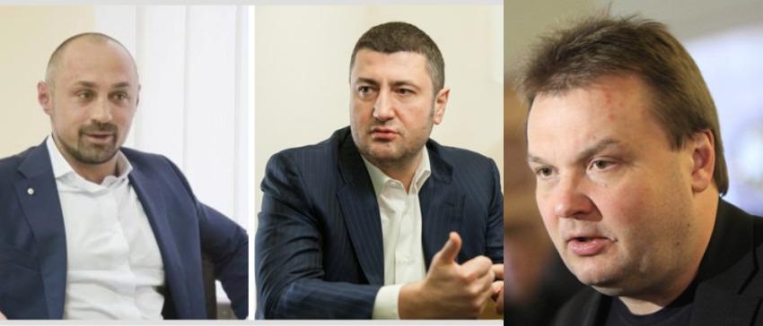 Анатолий Новак, Олег Бахматюк и Вадим Денисенко