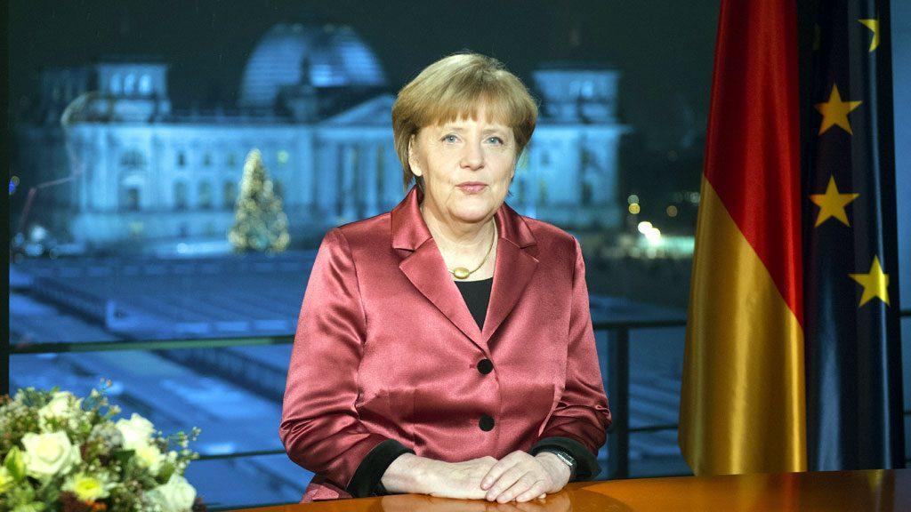Меркель преждевременно поздравила Калининград с Новым годом